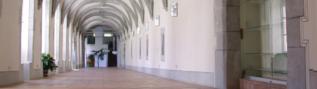 Cloister in Kloster Wald