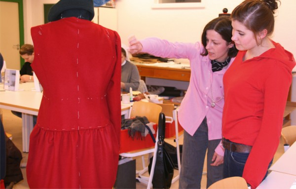 Apprentices and Master Tailor in the Bespoke Tailoring training